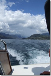Boat to Orta
